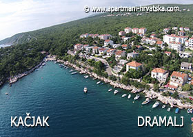 apartmani Dramalj - Kacjak - plaža