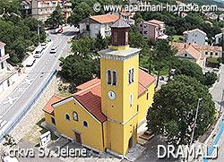Dramalj - crkva Sv. Jelene