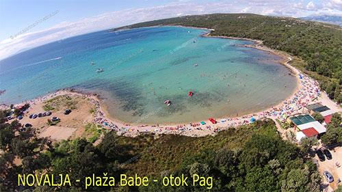 Novalja, Strand Babe - Insel Pag