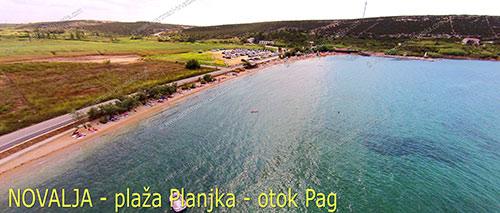 Novalja, Strand Planjka - Insel Pag