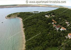 Jadranovo - plaža Havišće